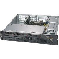 Supermicro CSE-825MBTQC-R802WB - Rack - Server - Schwarz...