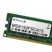 Memorysolution 8GB - compatible with FSC Celsius W510...