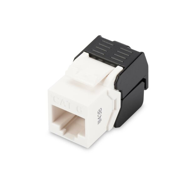 Keystone Jack CAT.6  RJ45 UTP Toolless, De-Embedded