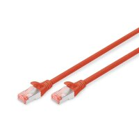 Patchk. Cat.6 S/FTP10m Rot AWG27/7  LSOH