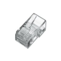 Modular Plug RJ12 Flat Cable 6P6C Unshielded