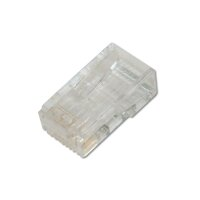 Modular Plug RJ45 Round CAT6 8P8C Unshielded with Boot