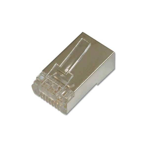 Modular Plug RJ45 Round CAT6 8P8C Shielded with Boot