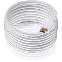HDMI/A Kab.ST-ST  25m Ethernet 19Polig, Goldk., weiss