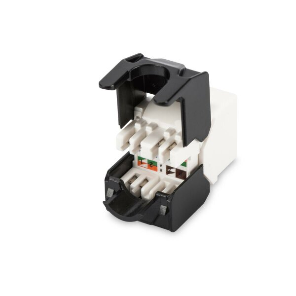 Keystone Jack CAT.6a RJ45 UTP Toolless, De-Embedded